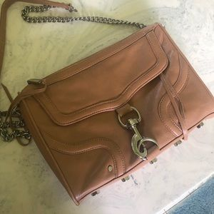 Rebecca Minkoff LARGE MAC crossbody brown